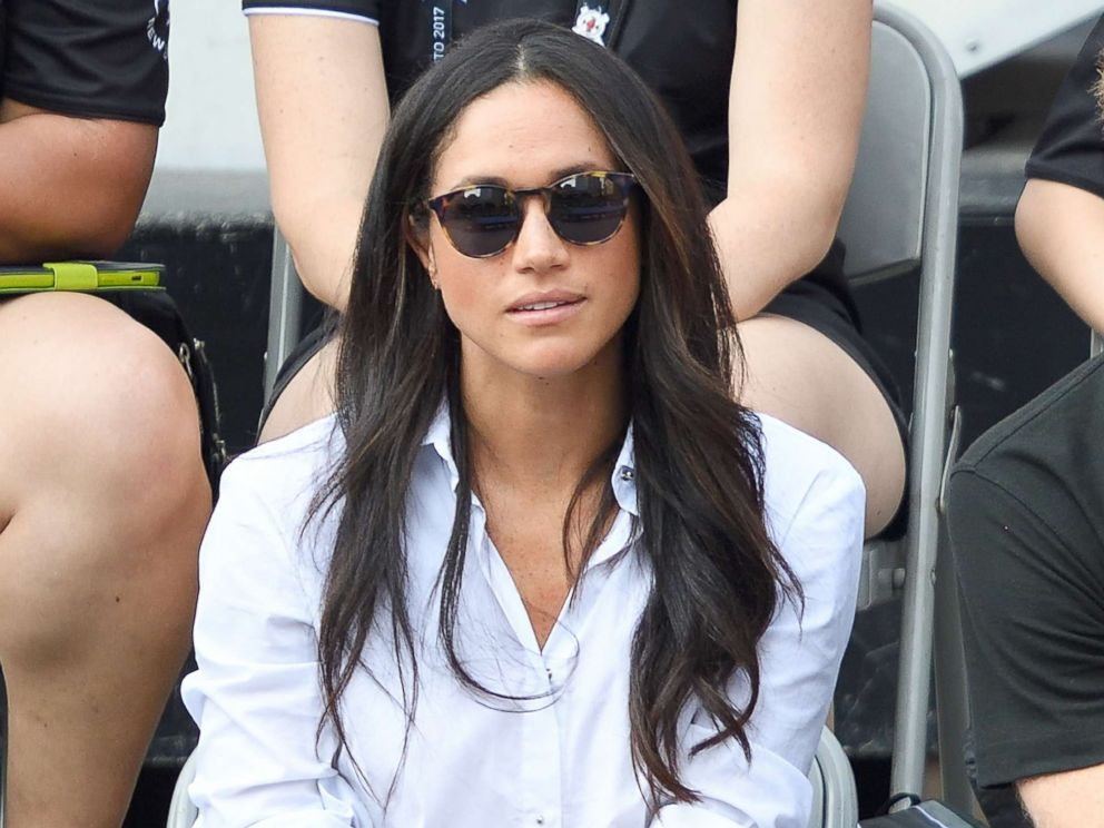 PHOTO: Meghan Markle attends the Wheelchair Tennis on day 3 of the Invictus Games Toronto 2017 at Nathan Philips Square, Sept. 25, 2017, in Toronto, Canada.