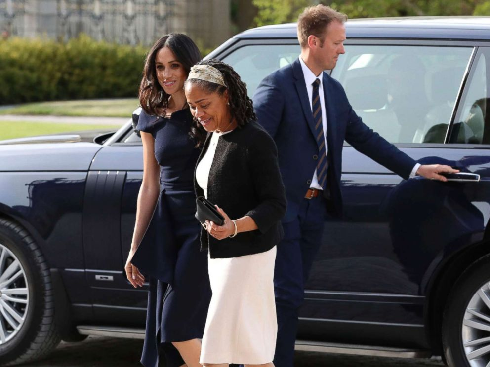 Prince Harry, Meghan Markle spotted on eve of their highly anticipated royal wedding