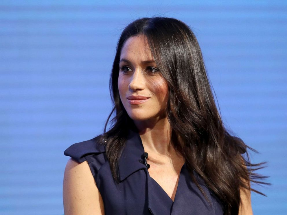 PHOTO: Meghan Markle attends the first annual Royal Foundation Forum held at Aviva on Feb. 28, 2018, in London.