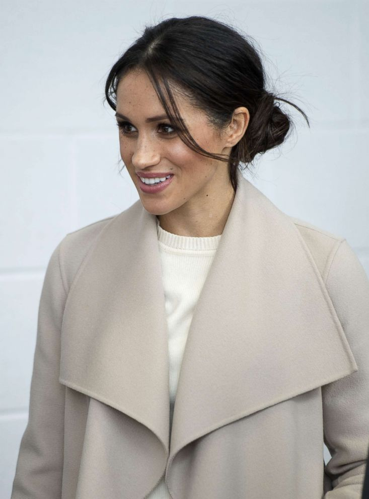 PHOTO: Meghan Markle attends an event at the Eikon Centre to mark the second year of the youth-led peace-building initiative in Lisburn, U.K., March 23, 2018.