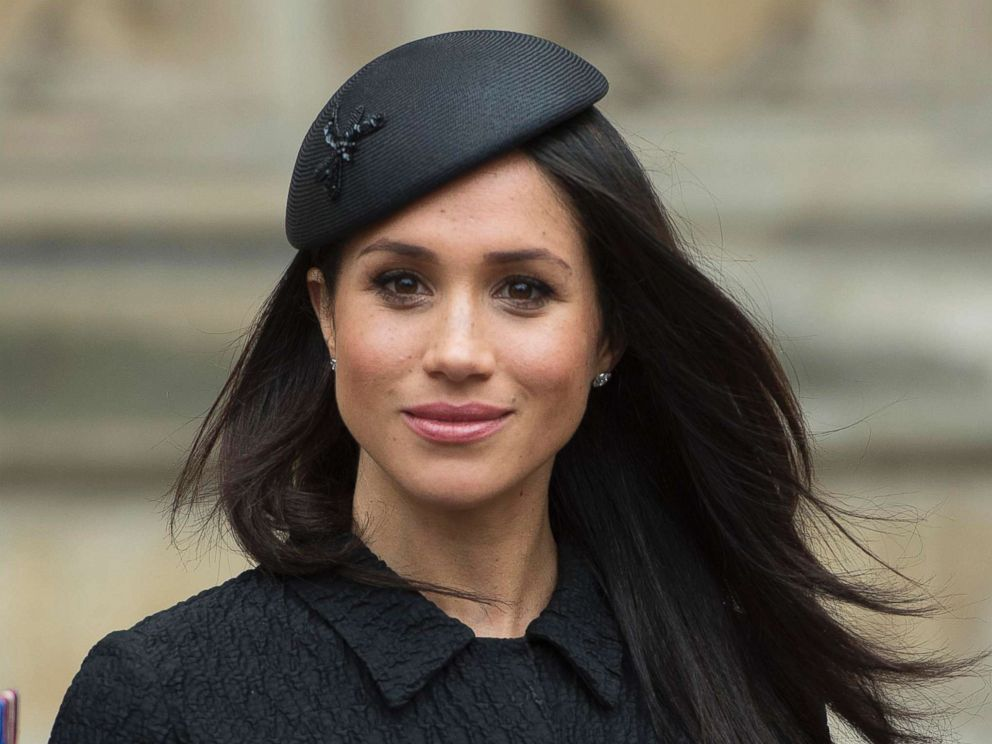PHOTO: Meghan Markle at the ANZAC Day Service at Westminster Abbey, central London.