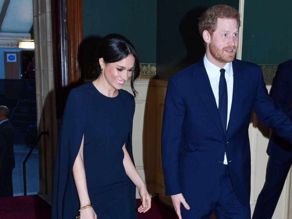 PHOTO: Prince Harry and Meghan Markle arrive at the Royal Albert Hall to attend a star-studded concert to celebrate the Queens 92nd birthday in London, April 21, 2018.