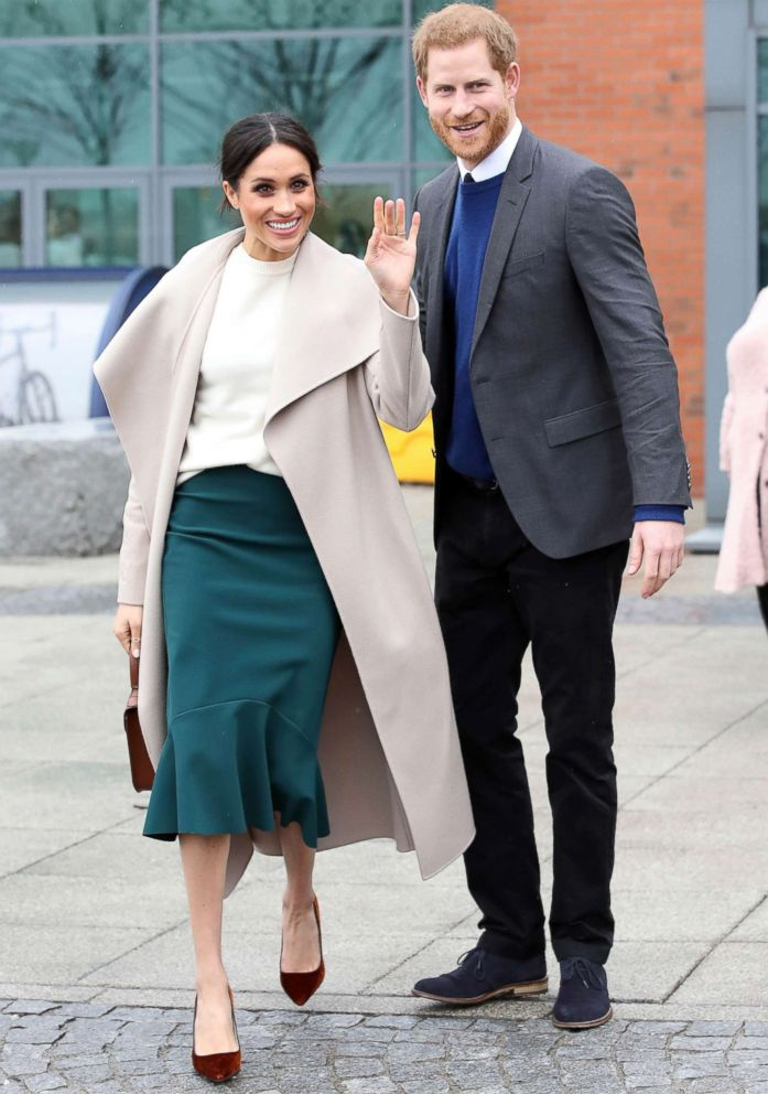 PHOTO: Prince Harry and Meghan Markle visit Catalyst Inc, Northern Irelands next generation science park, March 23, 2018, in Belfast, Northern Ireland.