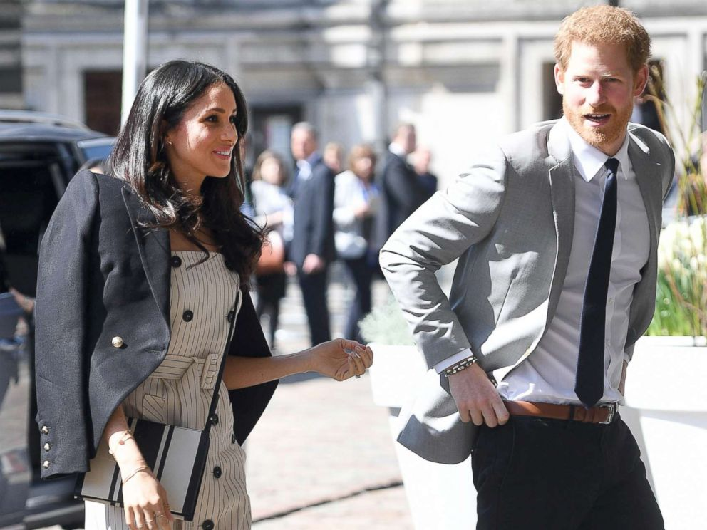 Meghan Markle Attends High Profile Event With Prince Harry As