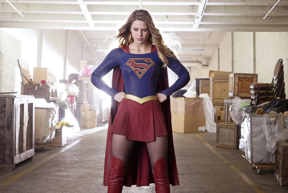 PHOTO: Melissa Benoist appears on Supergirl. .