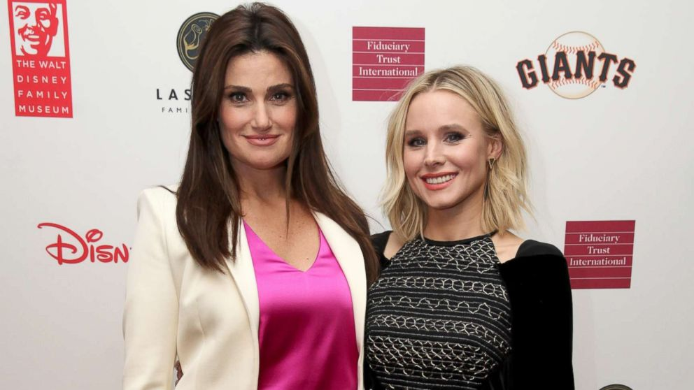 1st look at 'Frozen' co-stars Kristen Bell's and Idina ...  1st look at ...