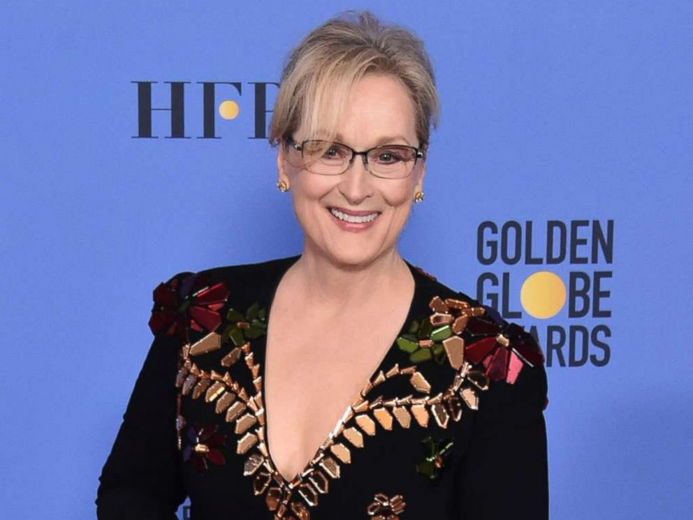 PHOTO: Meryl Streep poses in the press room during the 74th Annual Golden Globe Awards at The Beverly Hilton Hotel, Jan. 8, 2017 in Beverly Hills, Calif.