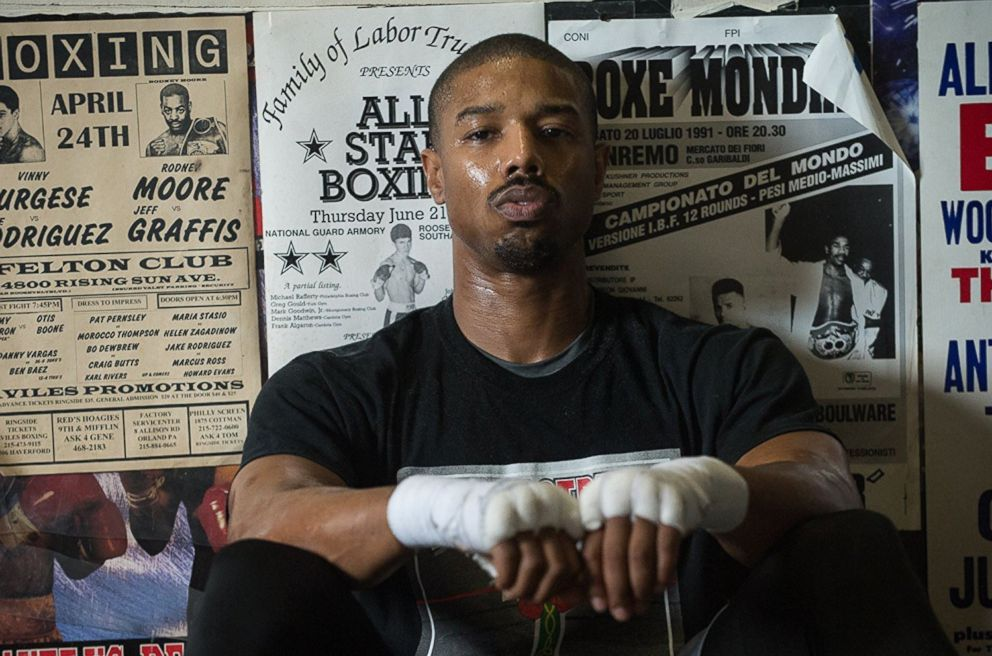 PHOTO: Michael B. Jordan in Creed.