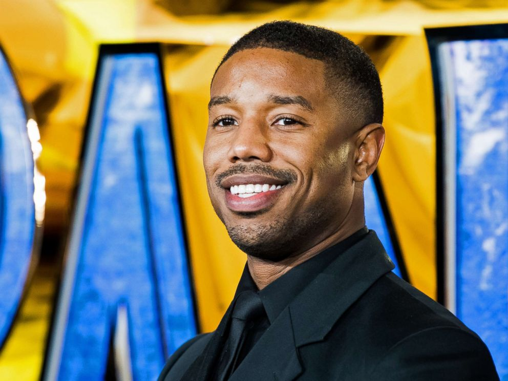 PHOTO: Michael B. Jordan attends the European Premiere of Black Panther at Eventim Apollo on Feb. 8, 2018 in London.