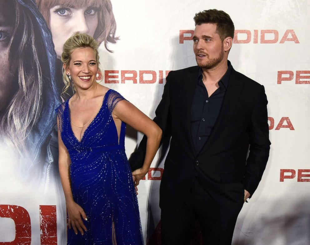 Michael Bublé and wife Luisana Lopilato welcome baby No. 3