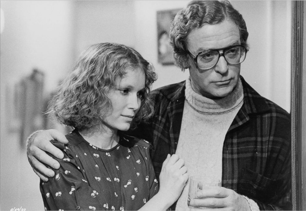 PHOTO: Mia Farrow and Michael Caine in Hannah and her Sisters, 1986.