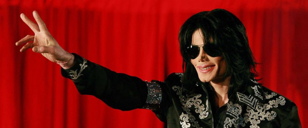 PHOTO: Michael Jackson addresses a press conference at the O2 arena in London, on March 5, 2009.