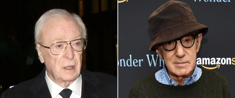 PHOTO: Michael Caine, left, and Woody Allen.