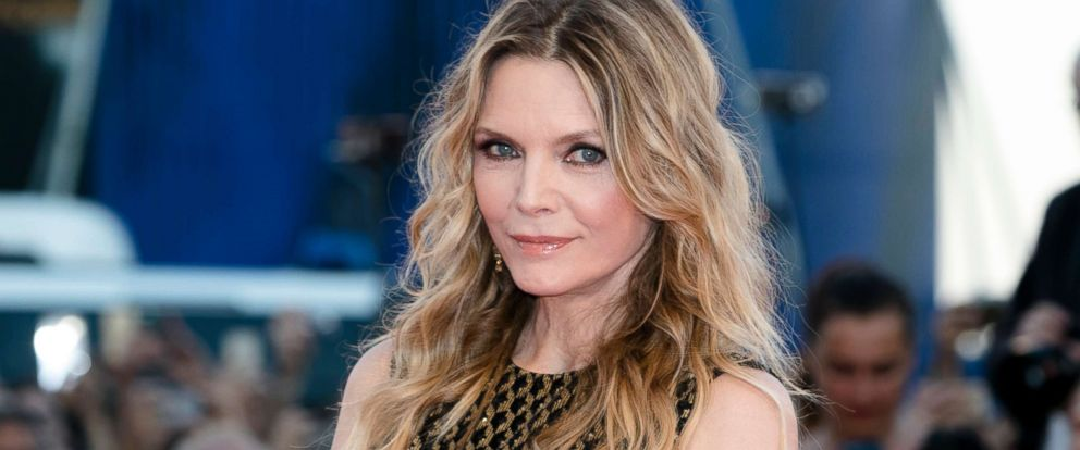 PHOTO: Michelle Pfeiffer attends a movie premiere in Venice, Italy, Sept. 5, 2017.