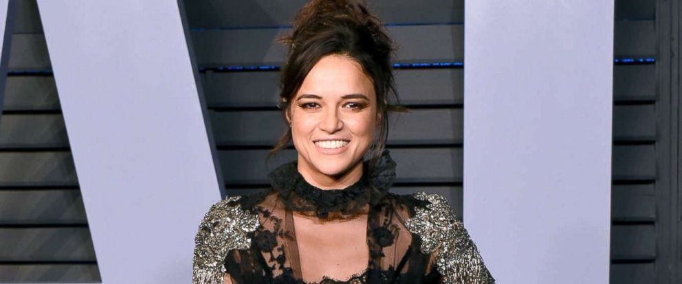 PHOTO: Michelle Rodriguez attends the 2018 Vanity Fair Oscar party at Wallis Annenberg Center for the Performing Arts, March 4, 2018, in Beverly Hills, Calif.
