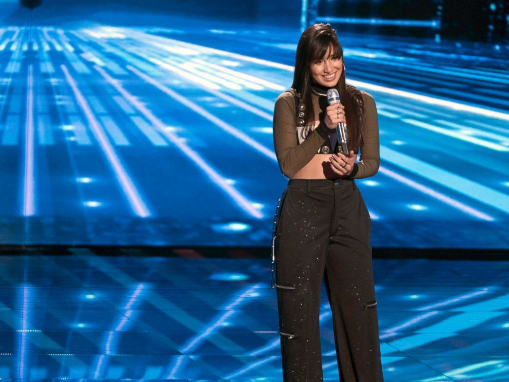 PHOTO: Contestant Michelle Sussett on American Idol performs on Americas network, The ABC Television Network, April, 22, 2018.