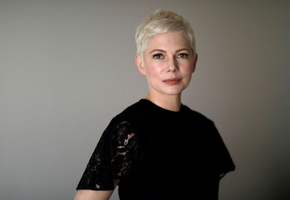 PHOTO: Michelle Williams poses for a portrait while promoting the movie All the Money in the World in Los Angeles, Dec. 16, 2017.