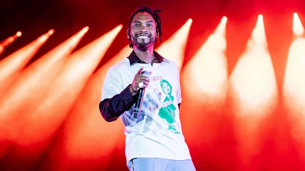 Miguel performs at the 2018 Essence Music Festival at the Mercedes-Benz Superdome on July 6, 2018 in New Orleans.