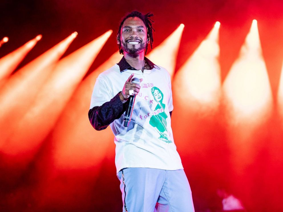 PHOTO: Miguel performs at the 2018 Essence Music Festival at the Mercedes-Benz Superdome on July 6, 2018 in New Orleans.