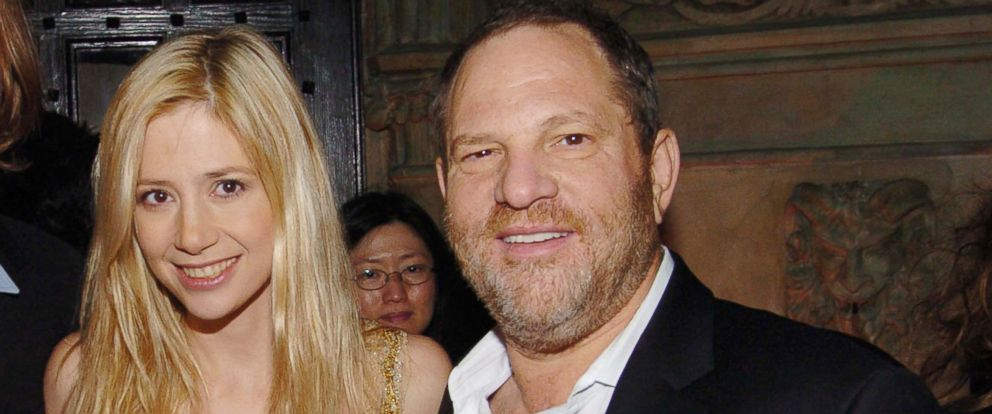 PHOTO: Mira Sorvino and Harvey Weinstein attend HBOs Annual Pre-Golden Globes Party at Chateau Marmont, Jan. 14, 2006, in Los Angeles.