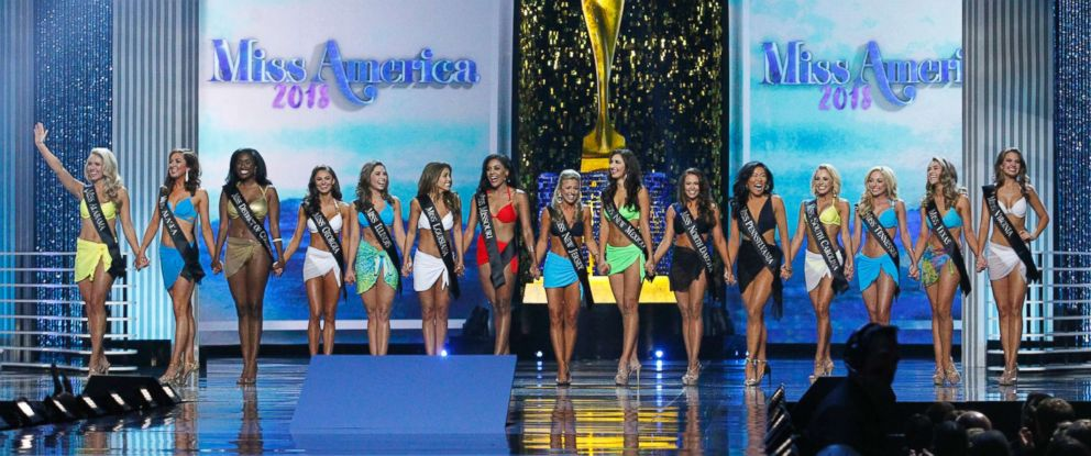 PHOTO: The 2018 Miss America Competition at Atlantic Citys Boardwalk Hall, Sept. 10, 2017, in New Jersey.