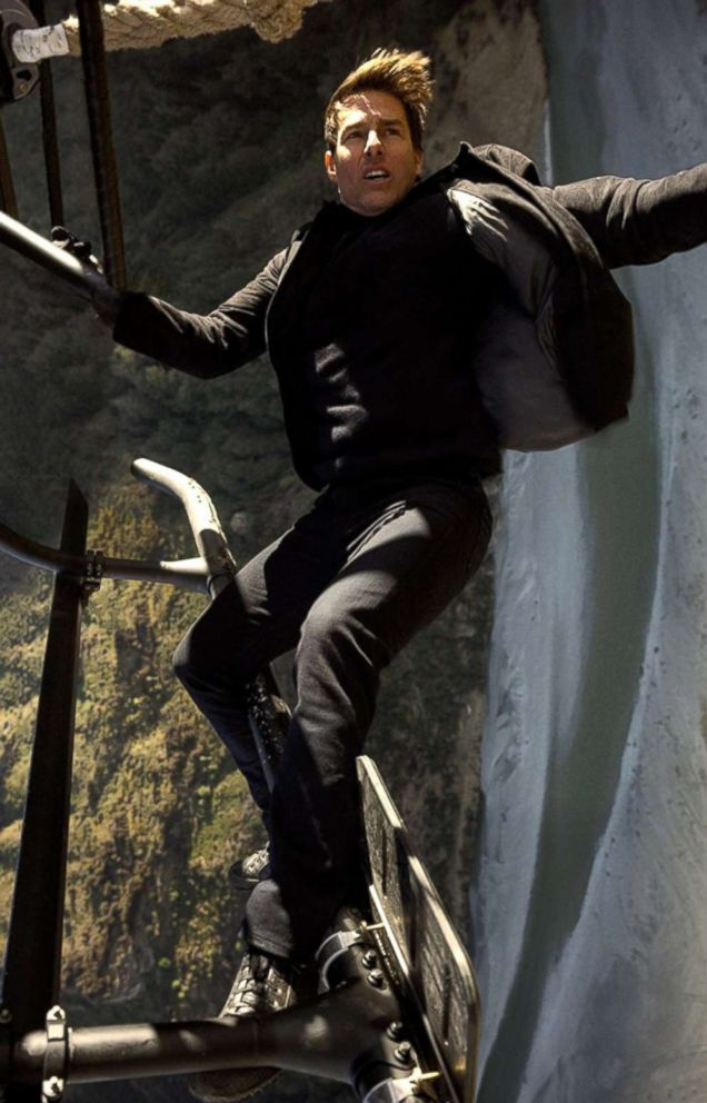 PHOTO: Tom Cruise in a scene from Mission Impossible - Fallout.