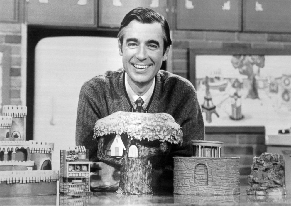 PHOTO: Fred Rogers, host, writer, and producer of Mister Rogers Neighborhood.