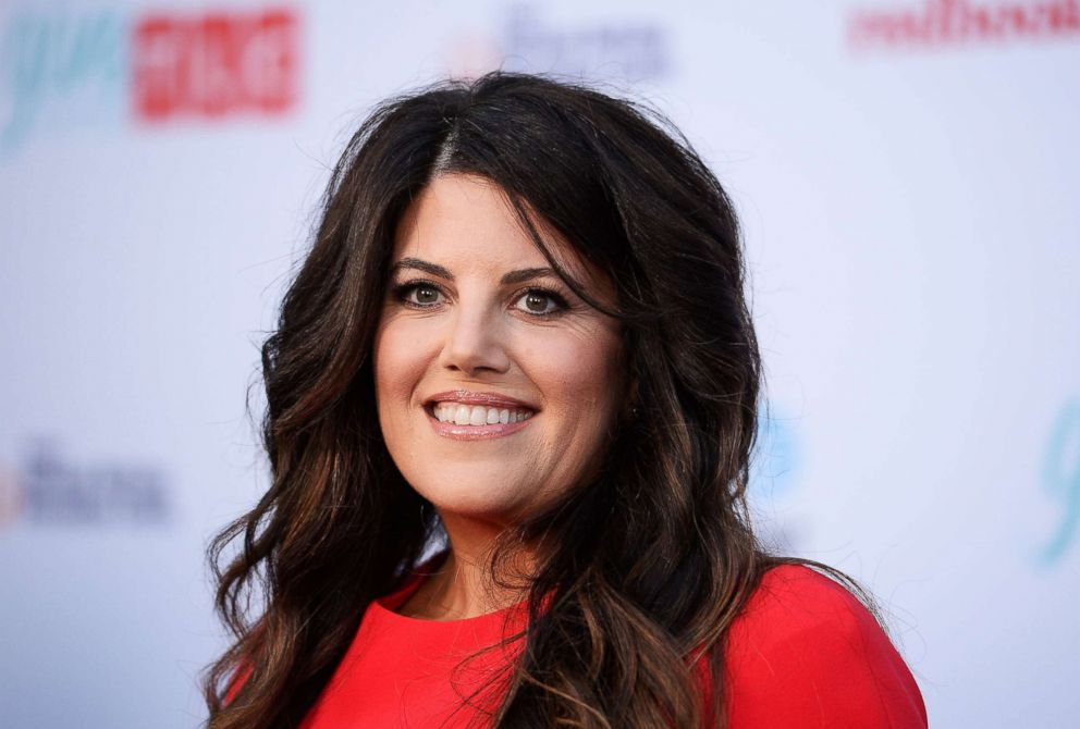 PHOTO: Monica Lewinsky arrives at TLCs Give A Little Awards at NeueHouse Hollywood, Sept. 27, 2017 in Los Angeles.