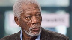 PHOTO: Actor Morgan Freeman appears on the Build series, March 28, 2017 in New York City.