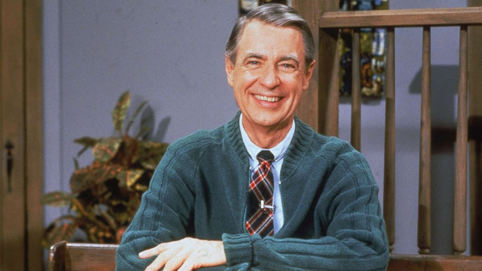 The upcoming Mr. Rogers film starring Tom Hanks is 'not a.