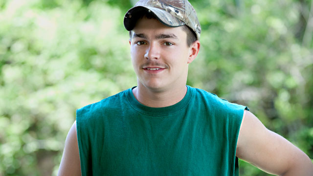 """PHOTO: Shain Gandee, seen in this undated publicity photo from the MTV show, """"Buckwild"""", was reported missing on April 1, 2013 in Sissonville, West Va."""