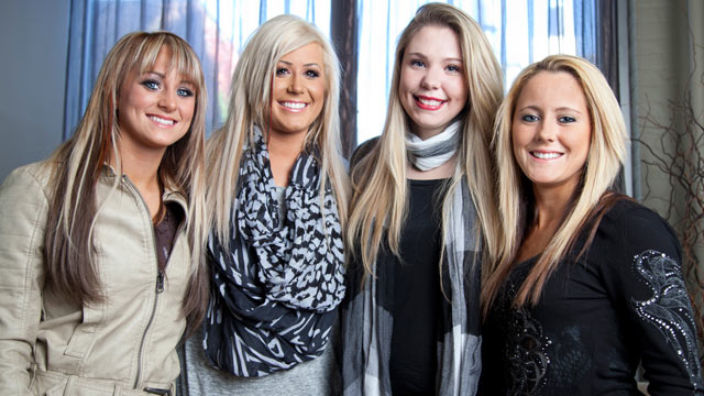 "PHOTO: The stars of the controversial MTV reality TV show ""Teen Mom"" are speaking out about their lives."