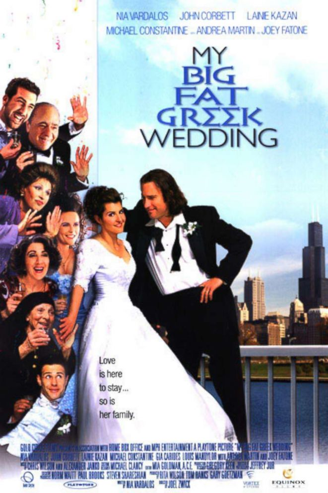 5 Things You Never Knew About My Big Fat Greek Wedding Abc News