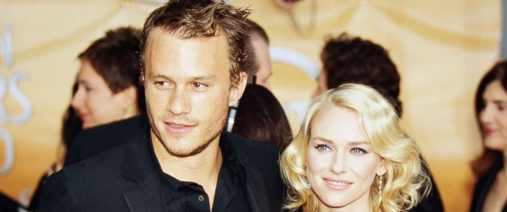 PHOTO: Heath Ledger and Naomi Watt at the 10th Annual Screen Actors Guild Awards in Los Angeles on Feb. 22, 2004.