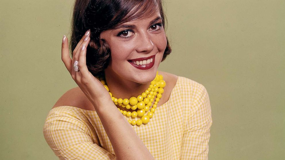 Natalie Wood in the Daily News color studio, Aug. 21, 1956.