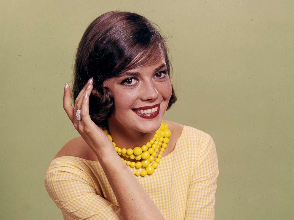 PHOTO: Natalie Wood in the Daily News color studio, Aug. 21, 1956.