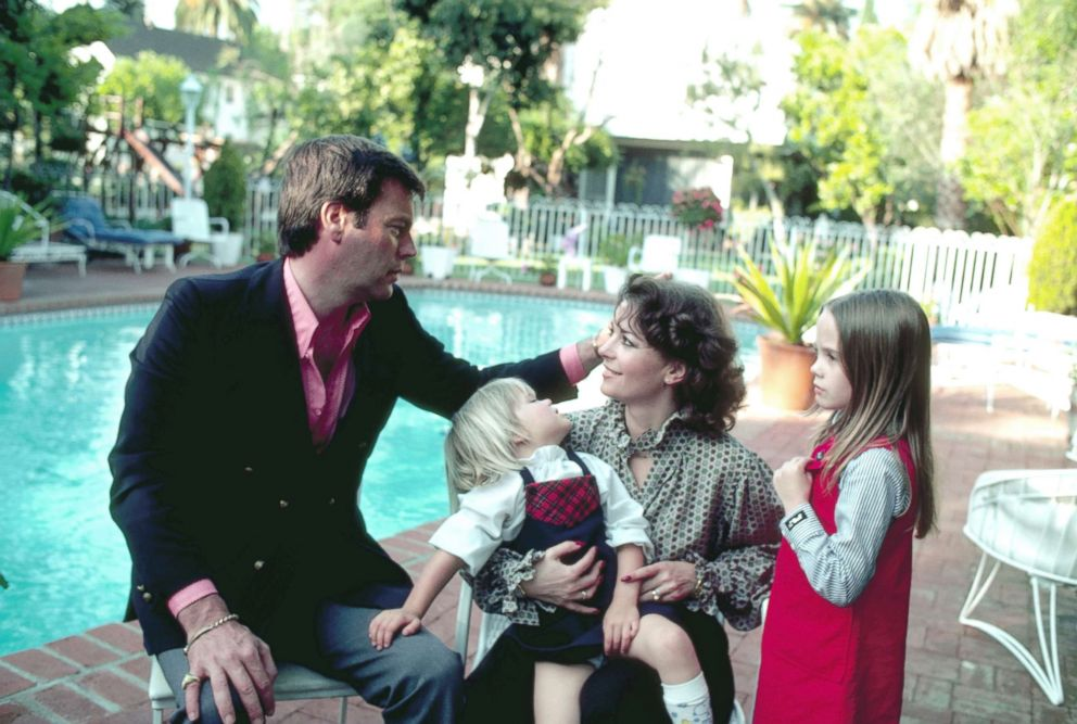 Robert Wagner, Natalie Wood and their children in an undated photo at their Beverly Hills, Calif., home.
