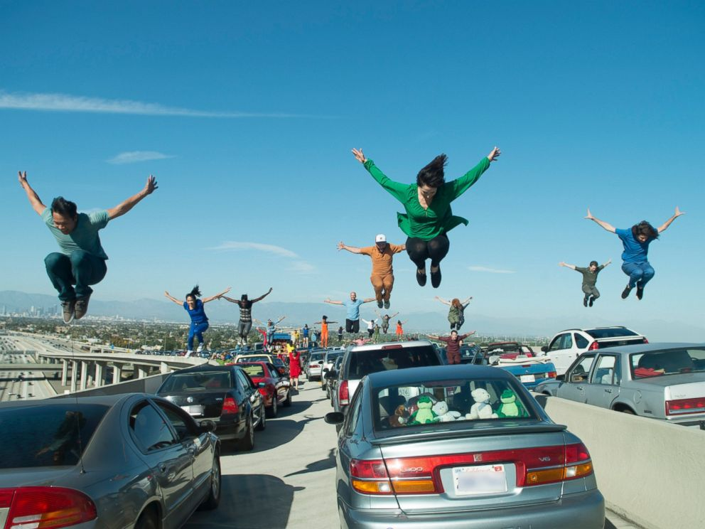 PHOTO: A film still from the movie La La Land.
