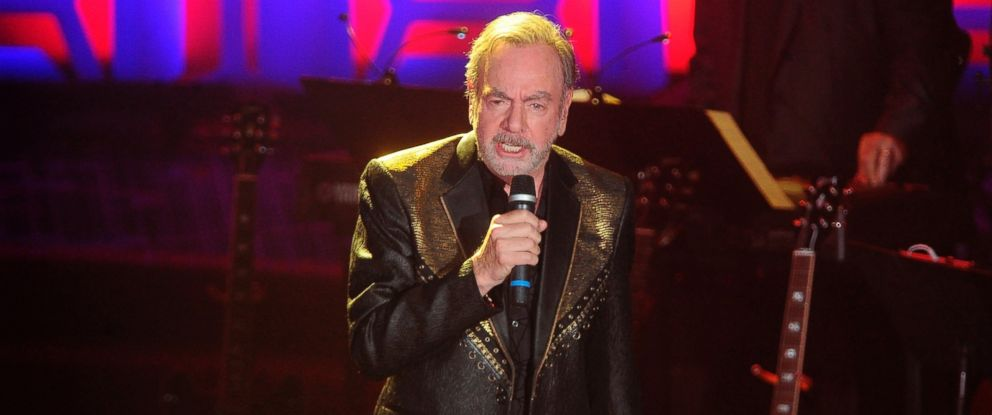 Neil Diamond performs during the 49th annual Songwriters Hall of Fame Induction and Awards gala at the New York Marriott Marquis Hotel on Thursday, June 14, 2018, in New York.