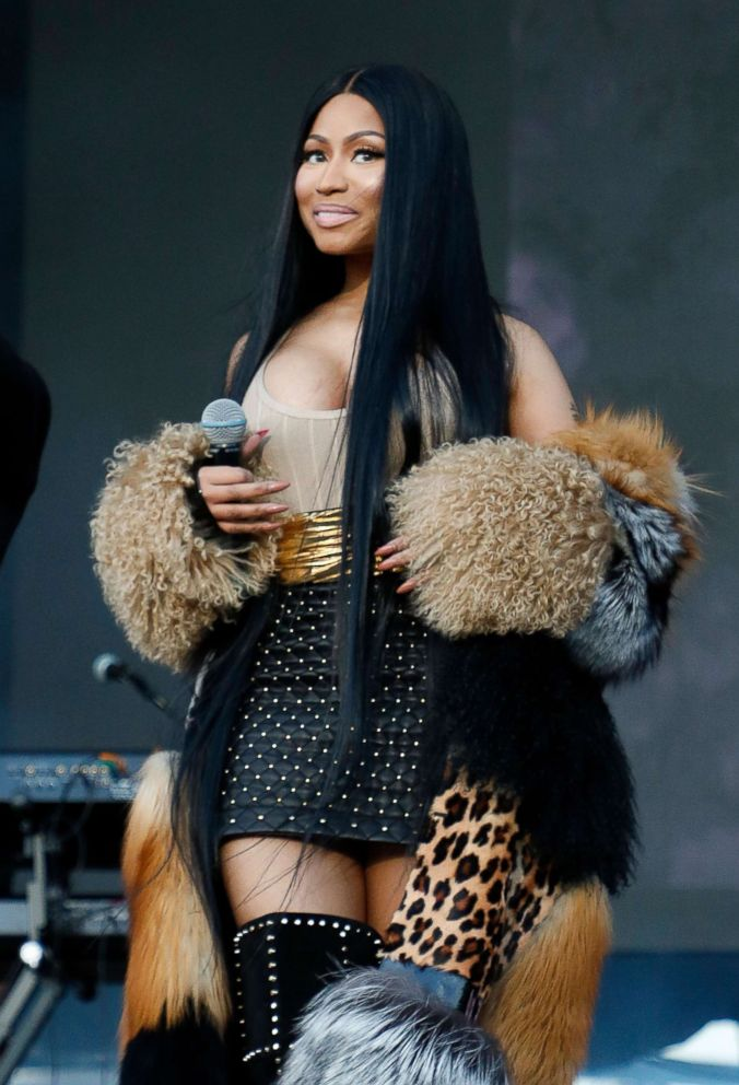 PHOTO: Nicki Minaj performs onstage during Day 2 at The Meadows Music & Arts Festival at Citi Field, Sept. 16, 2017 in New York City.
