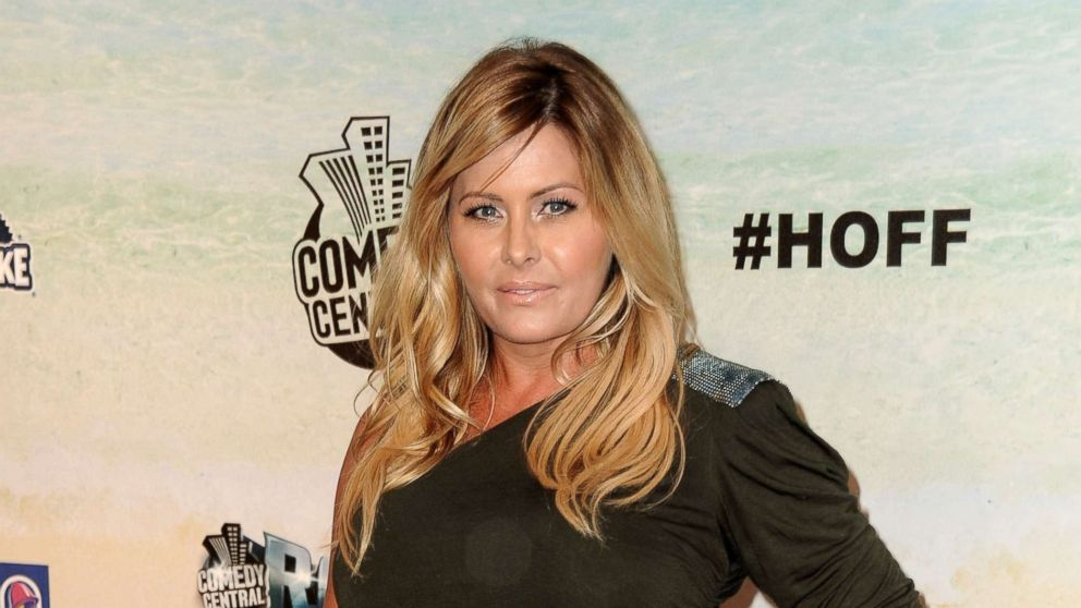 Nicole Eggert arrives at the Comedy Central Roast of David Hasselhoff at Sony Pictures Studios, Aug. 1, 2010, in Culver City, California.