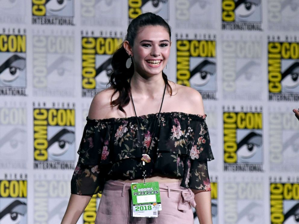 PHOTO: Nicole Maines attends Comic-Con International 2018 on July 21, 2018, in San Diego.