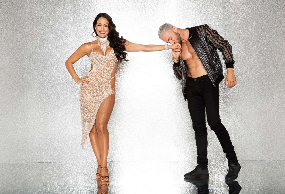 PHOTO: Nikki Bella and pro dancer Artem Chigvintsev will compete for the mirror ball title on the new season Dancing With The Stars.