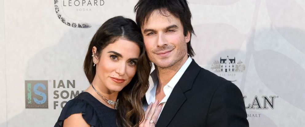 PHOTO: Nikki Reed and Ian Somerhalder attend a benefit gala on Dec. 3, 2016 in Chicago