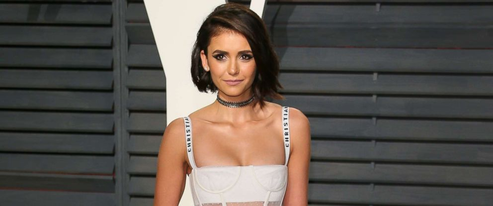 PHOTO: Nina Dobrev attends the 2017 Vanity Fair Oscar Party hosted by Graydon Carter at Wallis Annenberg Center for the Performing Arts, on Feb. 26, 2017, in Beverly Hills, Calif.
