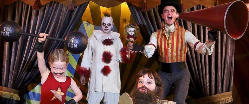 PHOTO Neil Patrick Harris and his family dressed up as a carnival performers. Play Neil Patrick Harris. WATCH Celebrity kidsu0027 Halloween costumes ...  sc 1 st  ABC News & Celebrity kidsu0027 best Halloween costumes - ABC News