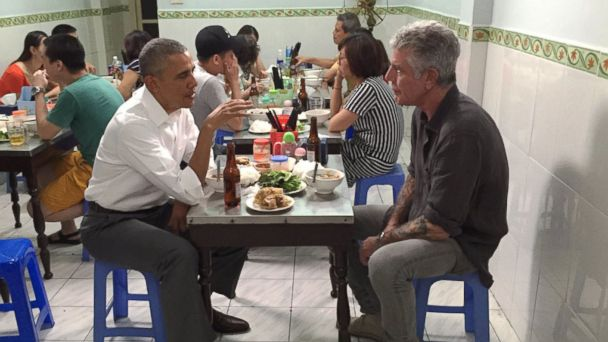 Former President Barack Obama mourns Anthony Bourdain in a heartfelt message