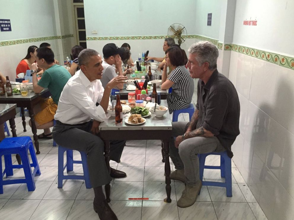 PHOTO: Anthony Bourdain posted this photo on Twitter May 23, 2016.