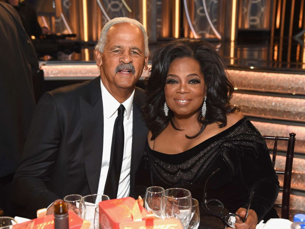 PHOTO: Stedman Graham and Oprah Winfrey celebrate the 75th Annual Golden Globe Awards at the Beverly Hilton Hotel, Jan. 7, 2018, in Beverly Hills, Calif.