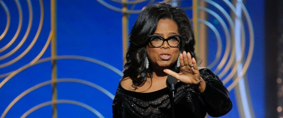 photo oprah winfrey accepts the cecil b demille award at the 75th annual golden - Quest Bergroer Sessel